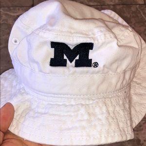 Michigan baby bucket hat